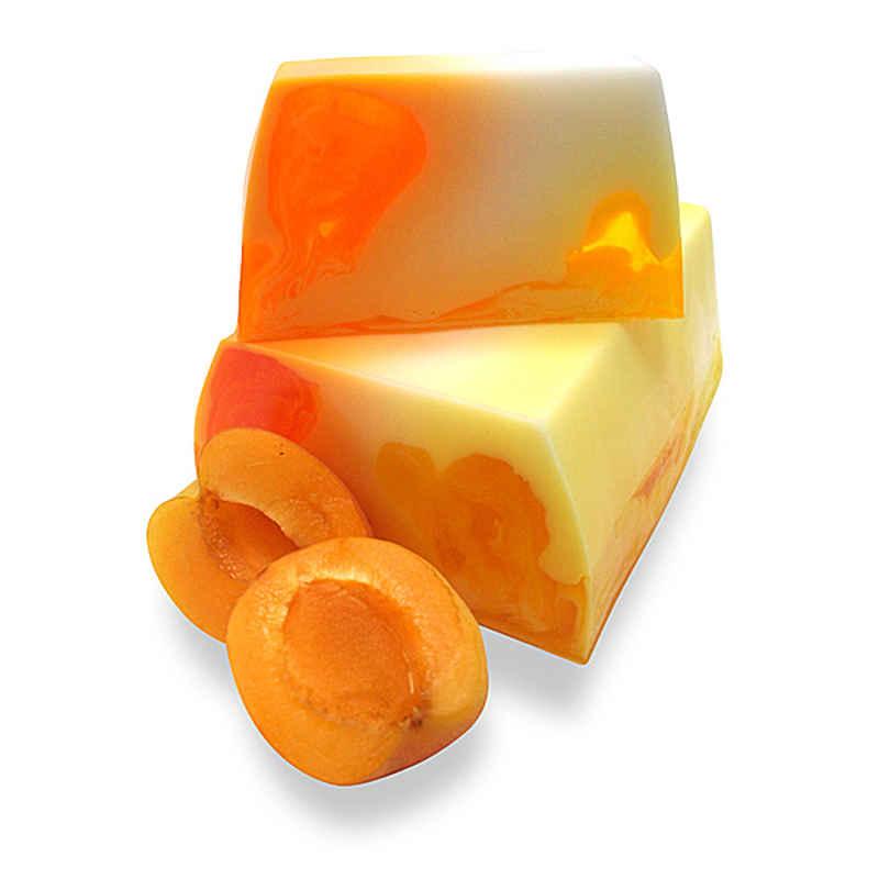 Cremige Aprikosen Seife