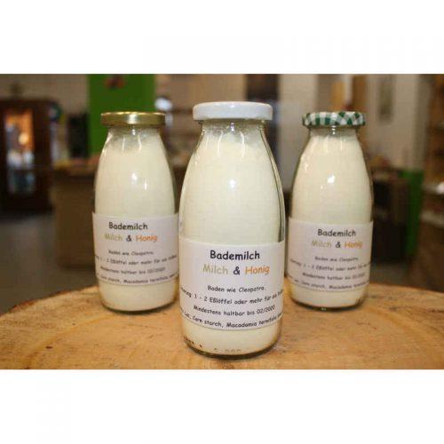 Bademilch Milch & Honig