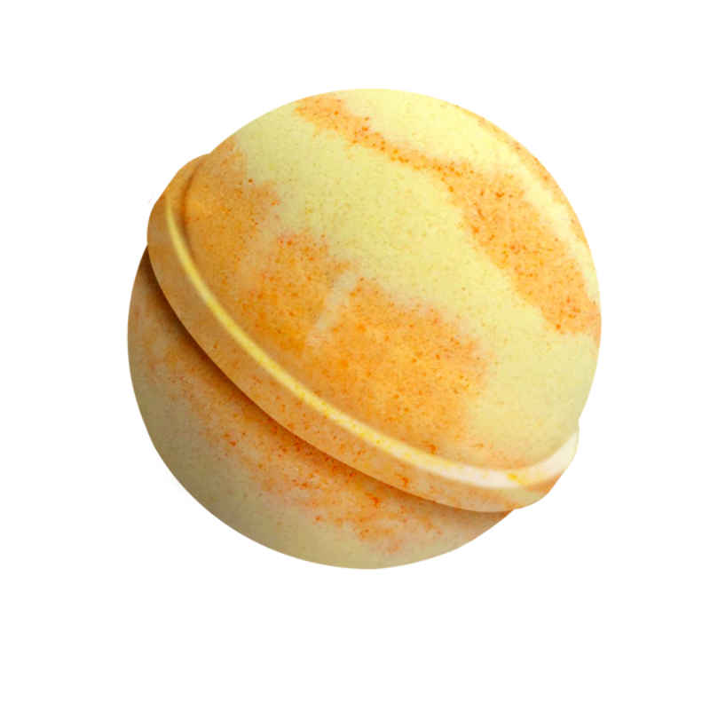 Peach Bellini Badekugel 180g