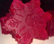 Schneeflocken Seife Cranberry & Orange